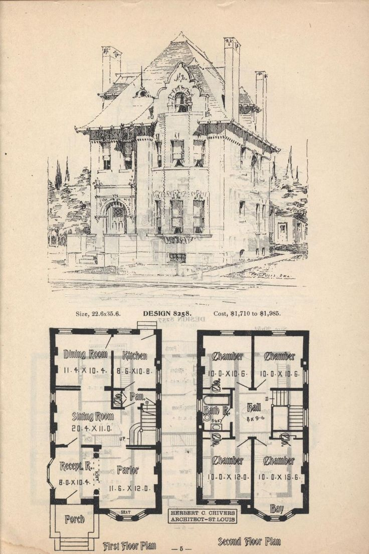 162 best Floor Plans - Traditional images on Pinterest | Vintage ...