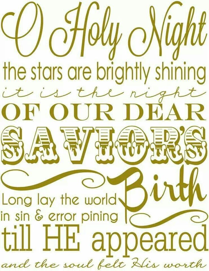 24 best Christmas Hymns images on Pinterest | Christmas carol ...