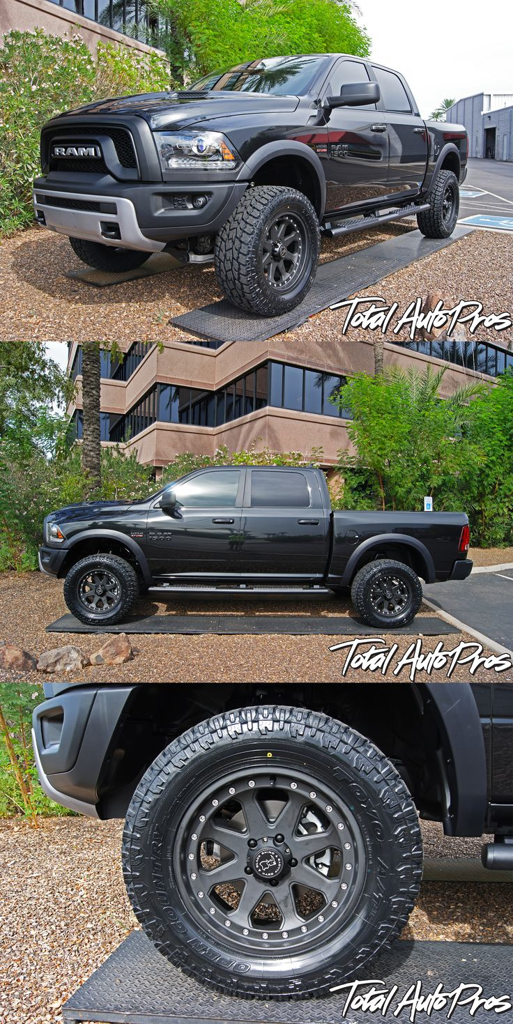 "2015 Dodge RAM Rebel | BDS 4"" Lift Kit 