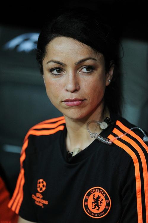 True! --> Eva Carneiro - Chelsea FC first team doctor. Once again. This woman has my dream job.