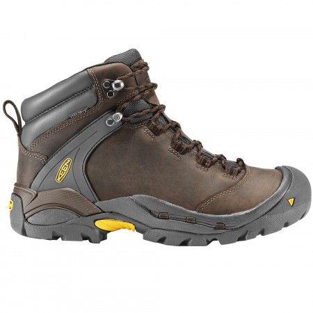 Keen Ketchum Men's Leather Hiking Boots - Slate Black/Black
