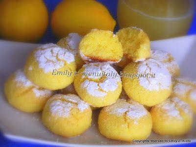 Biscotti di semolino, cocco e limone - Ghriyba ... super biscotti!!!