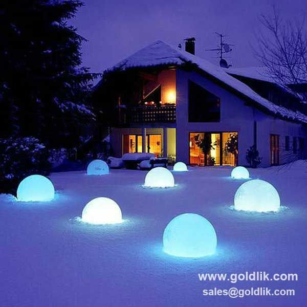 Find This Pin And More On Led Ball Waterproof Solar Powered Led Ball Light Outdoor Garden