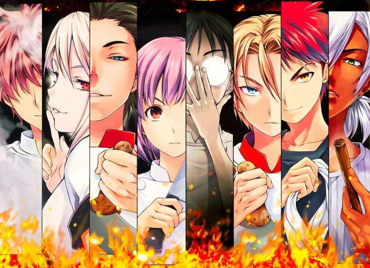 Fonds d'écran Manga > Fonds d'écran Shokugeki No Soma Wallpaper N°364037 par mmbck - Hebus.com
