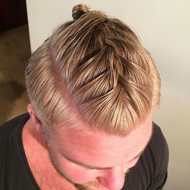 braided man bun - Google Search | Hurr | Pinterest ...