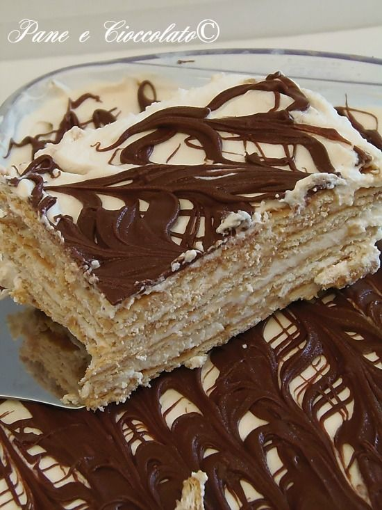 Torta Biscotto mascarpone e nutella senza forno http://blog.giallozafferano.it/ricettepanedolci/torta-biscotto-mascarpone-e-nutella-senza-forno/