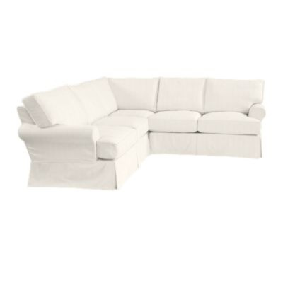 davenport 3 piece sectional slipcover great room furniture decor