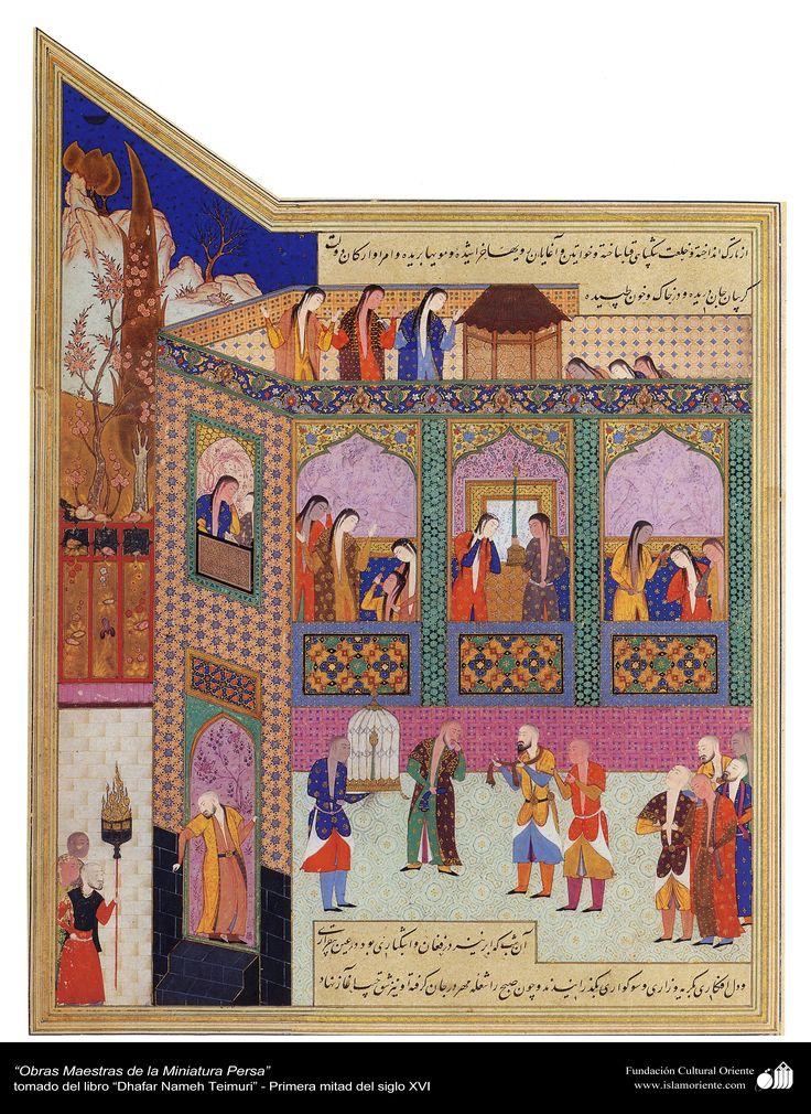 Persina Miniature - ZafarNama Timuri
