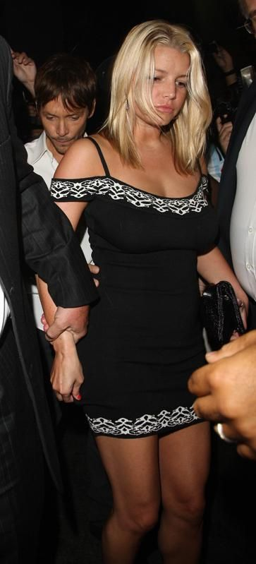 Jessica Simpson Jessica Simpson Celebrating Ken Paves Birthday at Beso Hollywood CA August 5 2009