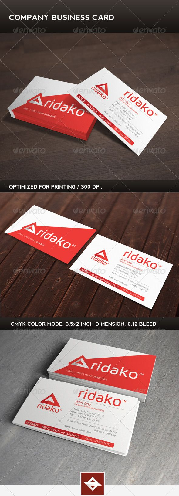 95 best print templates images on pinterest print templates company business card graphicriver company business card square corner possible reheart Choice Image