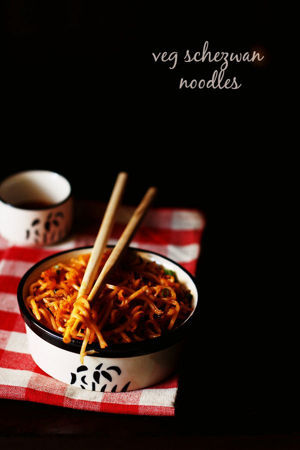schezwan noodles recipe with step by step photos. schezwan noodles recipe is quite similar to veg hakka noodles. in schezwan noodles we use schezwan sauce