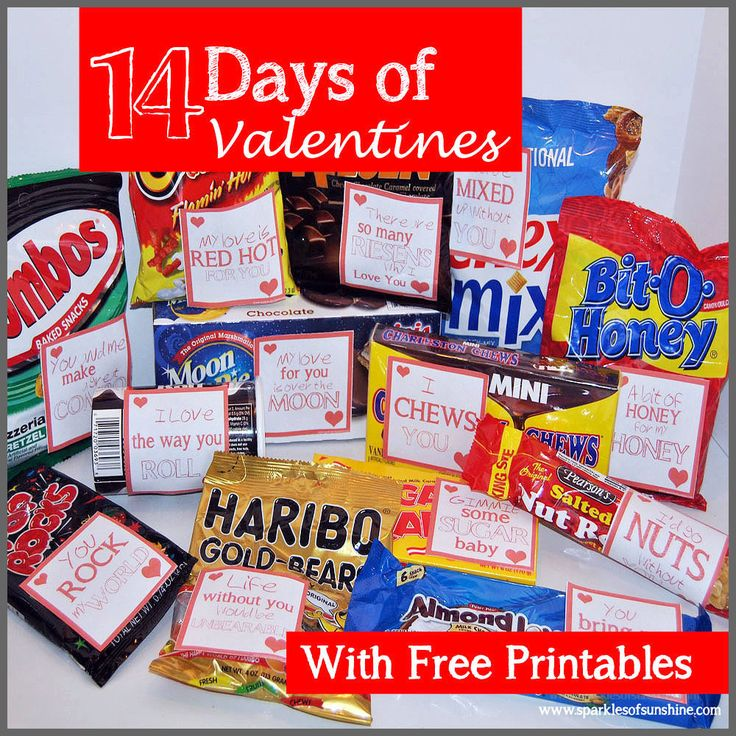 14 Days of Valentines Free Printables at Sparkles of Sunshine