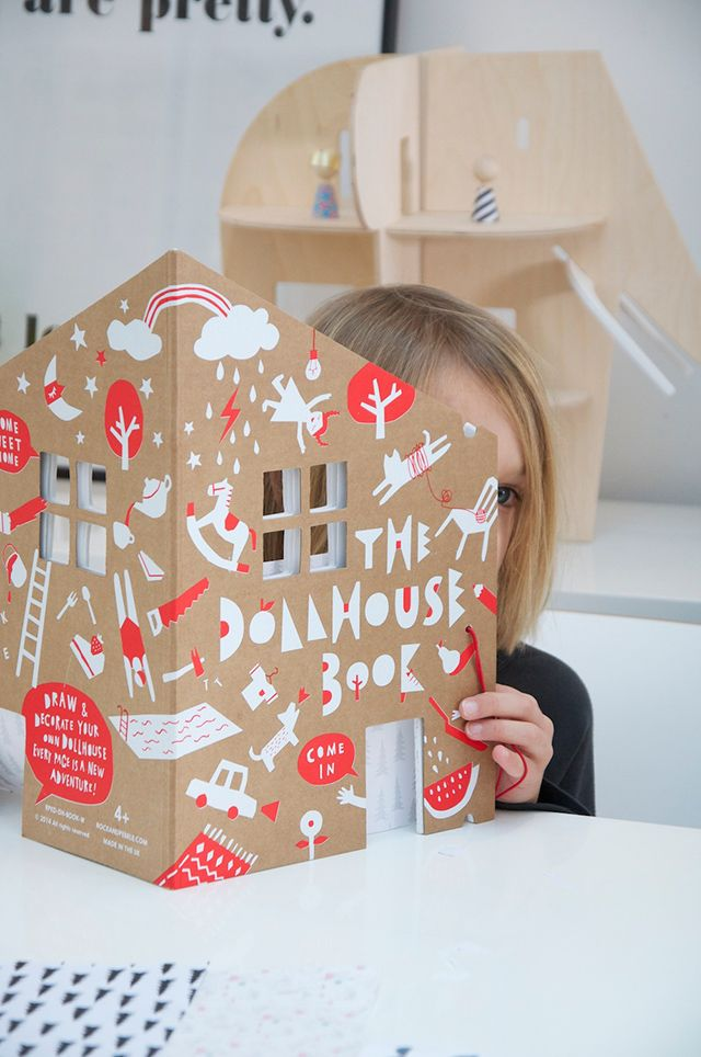 The Dollhouse Book by Rock & Pebble on Uberkid blog