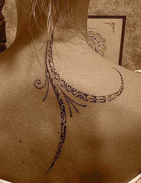 best 25 tatouage maorie epaule ideas on pinterest. Black Bedroom Furniture Sets. Home Design Ideas