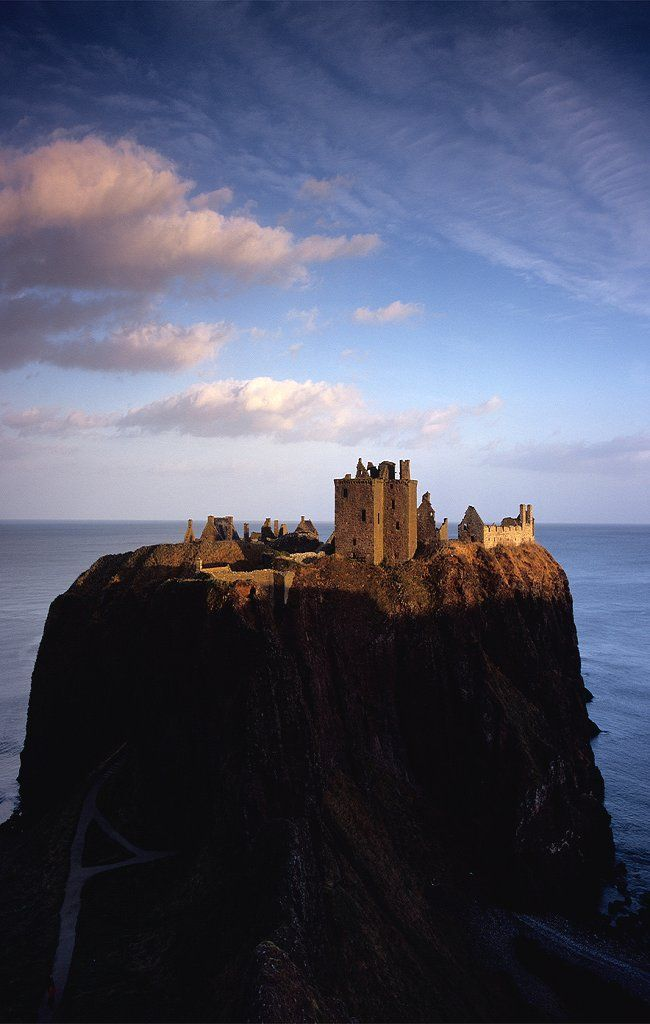 Dunnottar Castle, Scotland by Michael Prince: