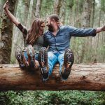 Rattlesnake Lake engagement session. The #TacomaWeddingExpo by @bridesclub and @weddingexpos on Jan. 6-7, 2018 in the Tacoma Dome