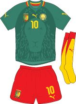Cameroon | home jersey | 2012-2013