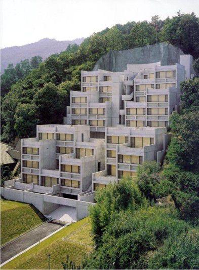 Possibilidades do Morar: Rokko Housing – Tadao Ando – Morar, Verbo Intransitivo.