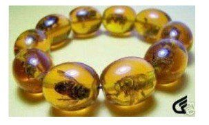 Rare Asian jewelry Amber Colored Bee Bracelet shipping free(China (Mainland))