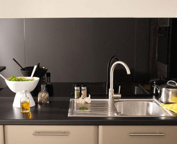 123 best crédence images on pinterest | kitchen ideas, kitchen ... - Credence En Verre Transparent Cuisine