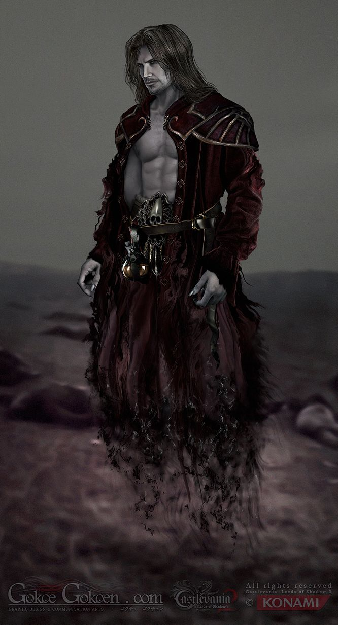 Male Vampire Concept  Dracul : Castlevania  Lords Of Shadow By Gokcegokcen