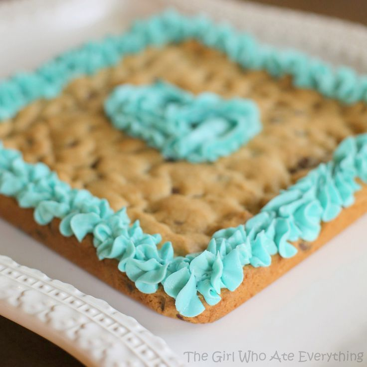 ... Chip Cookie Cake  Recipe  The girl who, Chocolate chips and Cakes