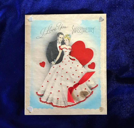 1930s american greetings valentine card gorgeous this is a very 1930s american greetings valentine card gorgeous this is a very high quality card made of a slick parchment like paper with touches of foil the m4hsunfo
