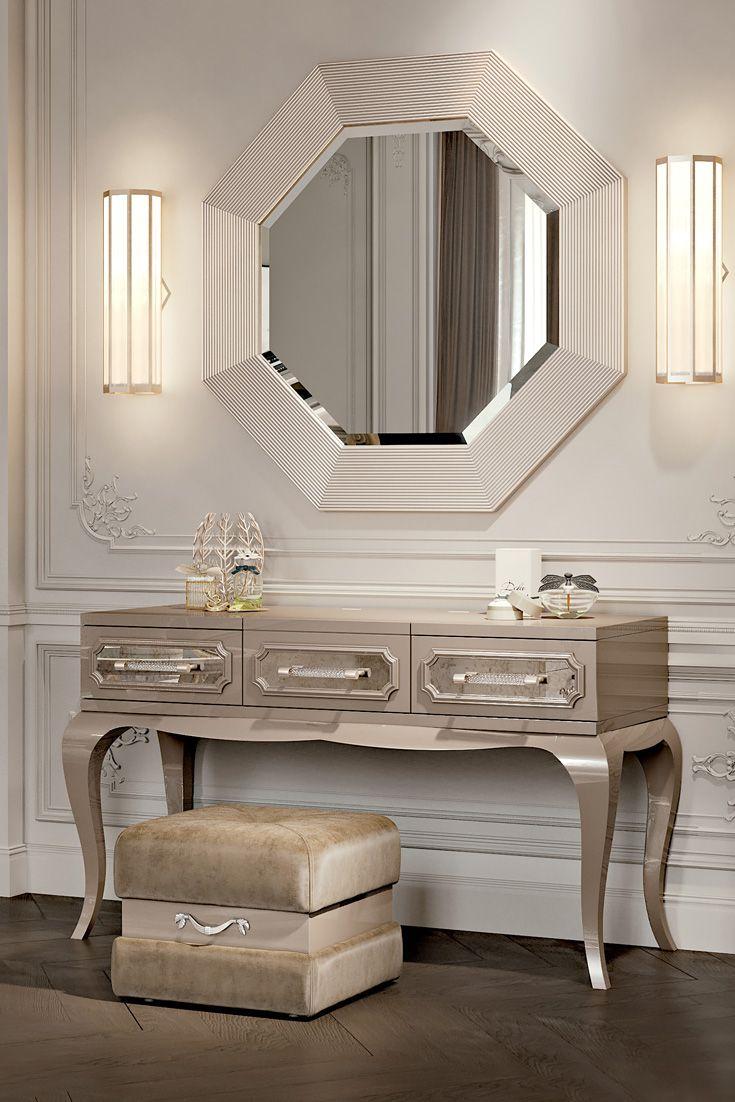 Mirror nightstands contemporary bedroom kimberley seldon design - Best 25 Stylish Dressing Table Designs Ideas On Pinterest Scandinavian Dressing Table Stools Retro Desk And Mid Century Desk
