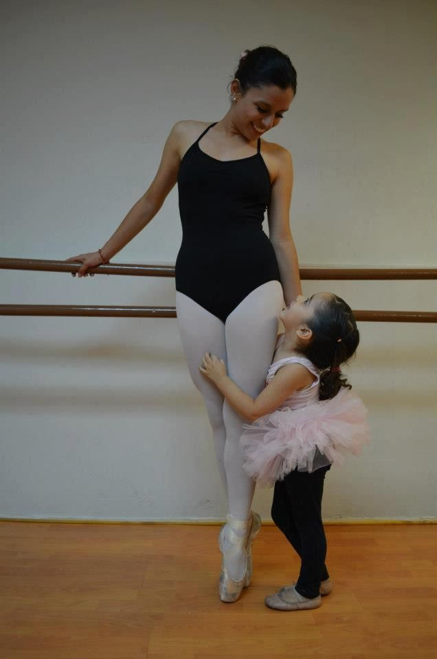Alumnas de ballet.