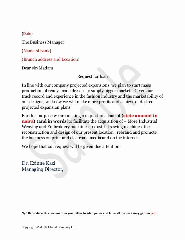 Personal Loan Letter Format Unique Sample Loan Application Letter Lettering Application Letter Sample Application Letter Template