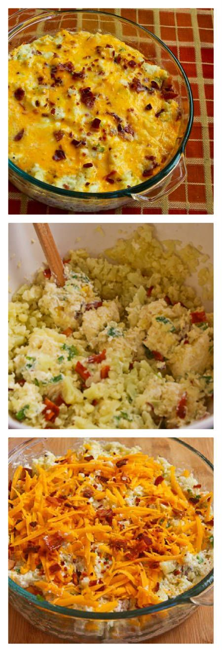 kitchen low carb twice baked cauliflower twice baked cauliflower ...