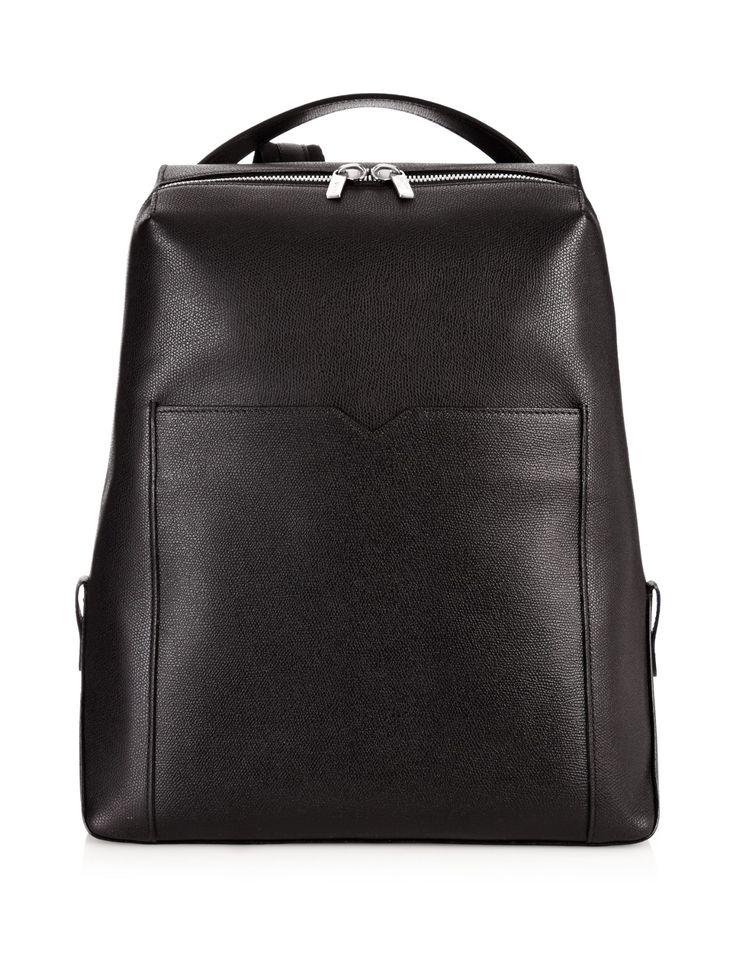 Zip-around leather backpack   Valextra   MATCHESFASHION.COM