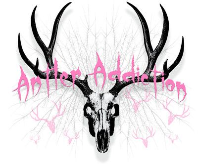 Women's Deer Skull Hunting T Shirt Compound Bow Archery Pink Hunter Girls Mule | eBay