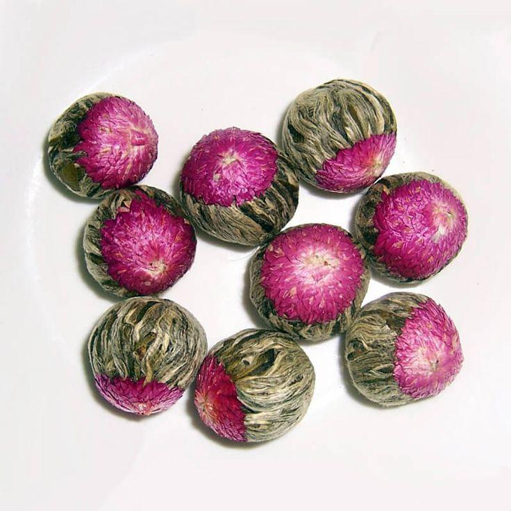 Compressed Flower Tea Balls //Price: $9.99 & FREE Shipping //     #Teayime #Relax #Chai #Drink #Tealife #Positive #TeaTime #TeaStory #Morning #Teapot #Antiaging #TeaSmarter