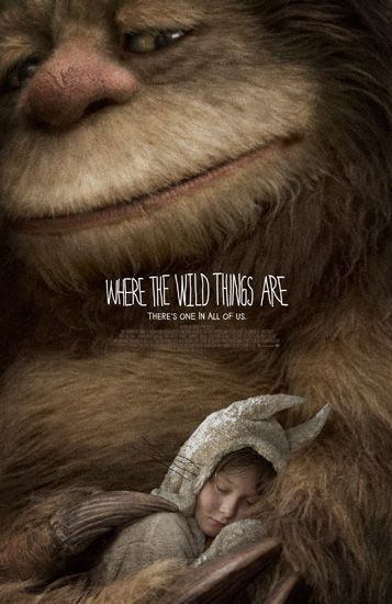Where The Wild Things Are movie poster by
