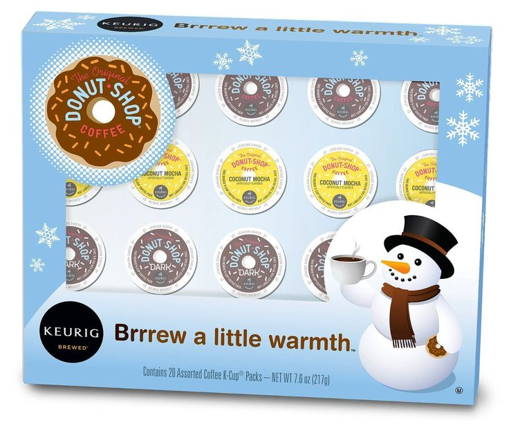 Keurig, The Original Donut Shop, Holiday Variety Pack, K-Cup packs, 20 Count >>> Tried it! Love it! Click the image. : K Cups
