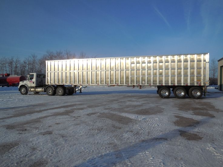 Check Out This New 53u0027 All Aluminum Tri Axle Trailer With Keith Walking  Floor