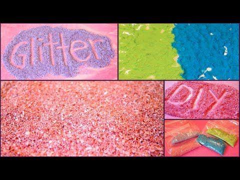 DIY: How to Make GLITTER! ✽ Easy & Inexpensive!!!! YASSSS EDIBLE AND CRAFT GLITTER MEW HAAHAHHAHAHAAAAA