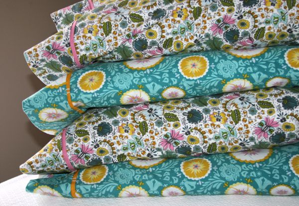 Pillowcases with French Seams