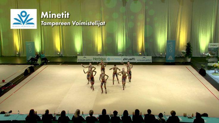 Voimistelun SM2015 / Minetit (Tampereen Voimistelijat)