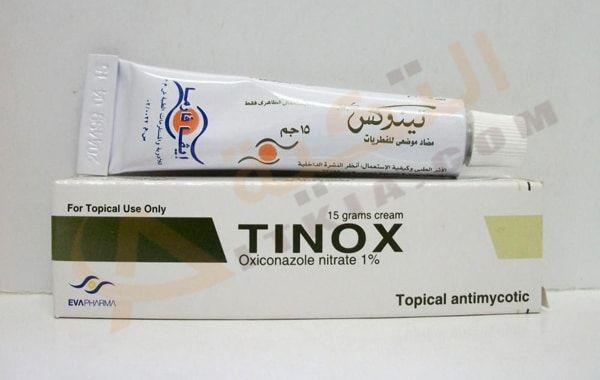 دواء تينوكس Tinox كريم مضاد للفطريات يقضي على الجلدية حيث يحتوي على مجموعة من العناصر والفوائد التي تعود على صحة الجلد بالإيجاب حيث Topical Cream Toothpaste
