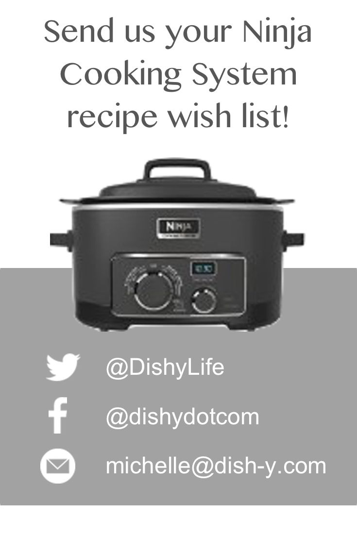 Ninja cooking system recipes - Searching For Recipes To Make In The Ninja Cooking System We Love A Challenge