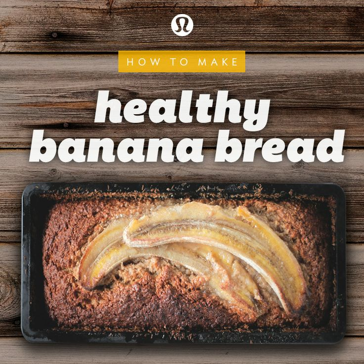 lululemon | how to make healthy (and gluten-free!) banana bread