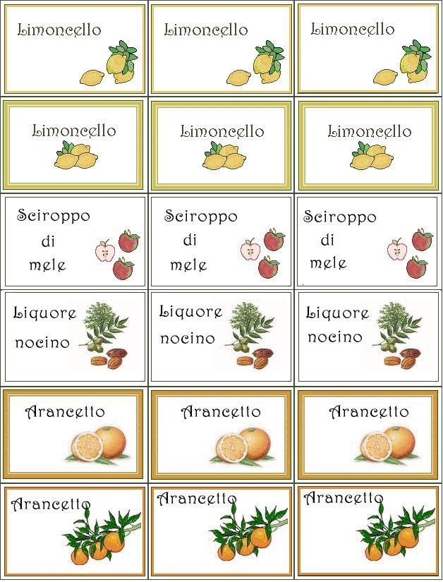 17 migliori idee su etichette per spezie su pinterest for Marmellate fatte in casa senza zucchero