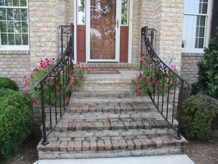 The 25 best Exterior handrail ideas on Pinterest Iron railings