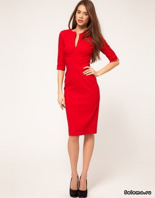 Выбираем красное платье (английская мода, английский стиль)
