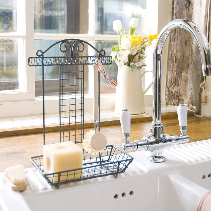 Kitchen Sink Tidy With Brush Products Soaps And Sinks