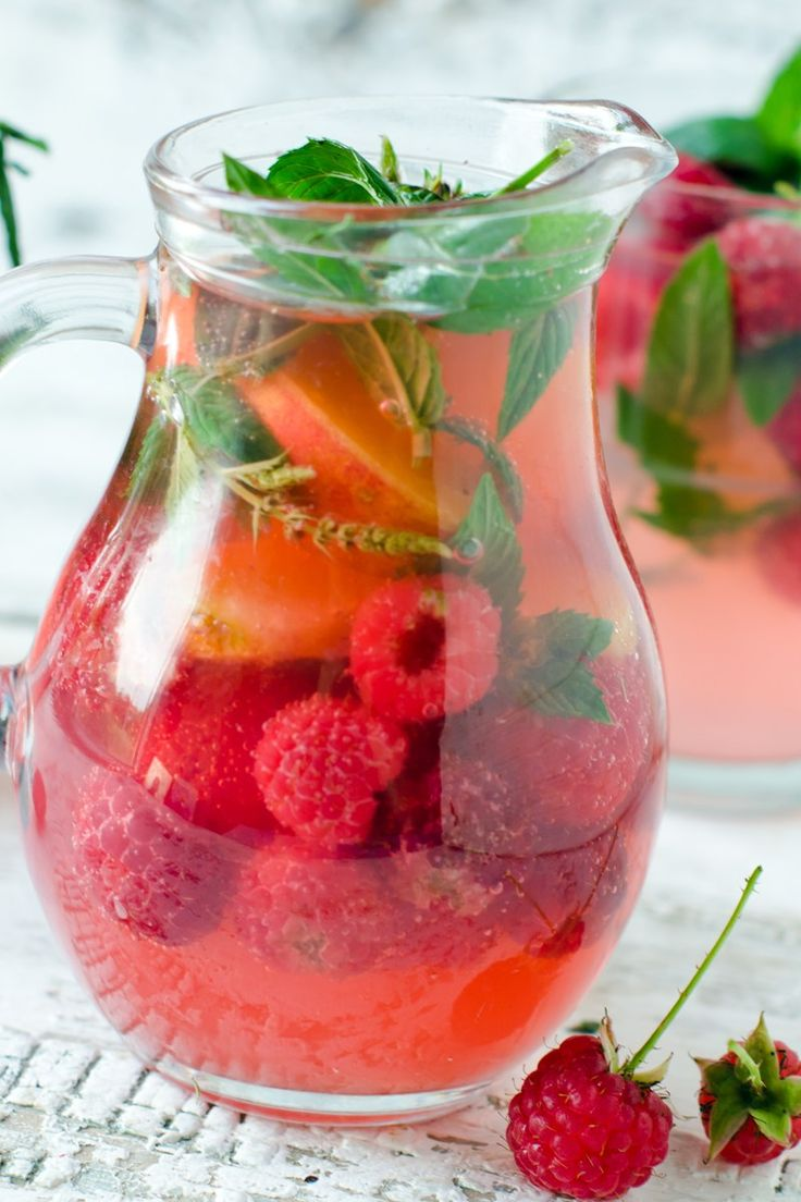 Raspberry Lemonade Punch