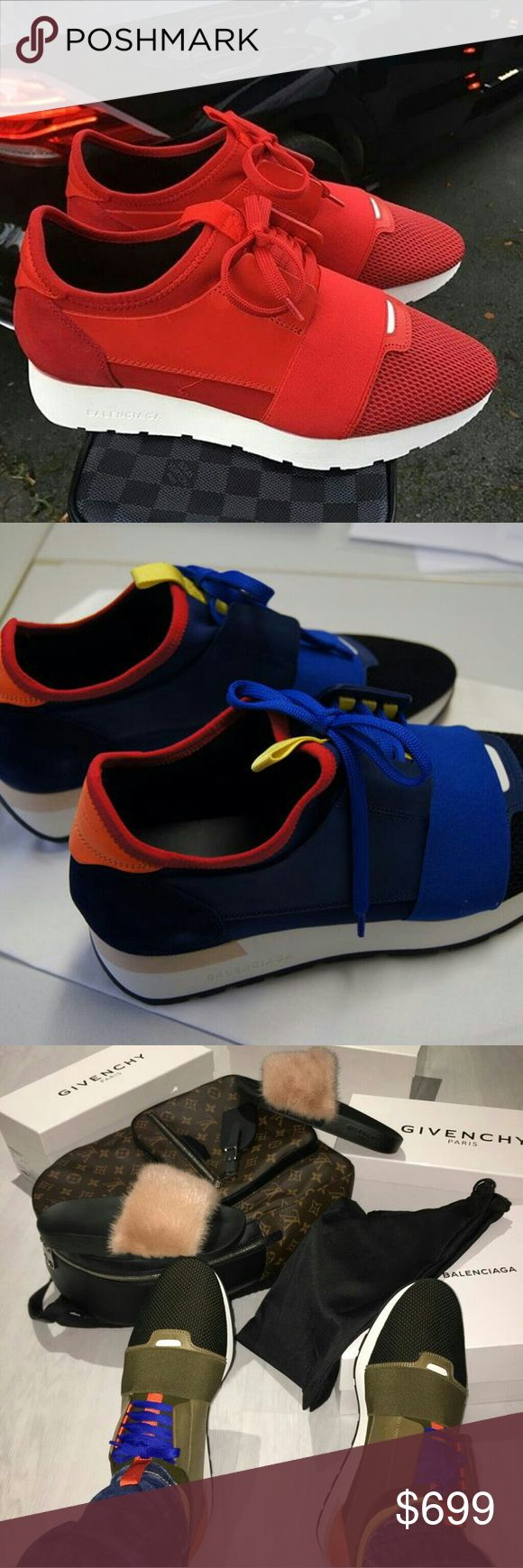 BalenciAga Sneakers Sale Sale Sale! Weekend Sale All New and Authentic Men or Women All sizes Available Contact me to get if for $575.00@ 8177790625 Balenciaga Shoes Sneakers