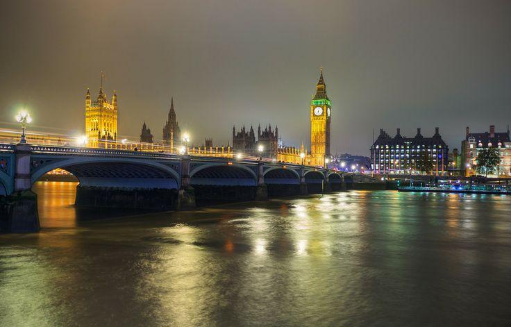 Big Ben in the Evening